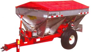 Ag - Model AG-400 - Four Ton Adjustable Wheel Track Spreaders