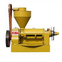Small And Medium Scale Single Oil Press Machine