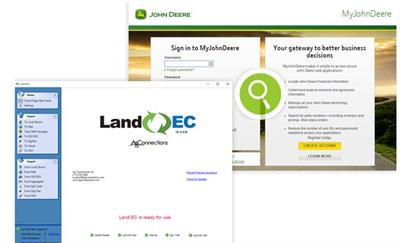 Ag Connections - Version LAND.EC - Exchange Center Software for Managing Equipment Integrations