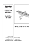 Model 45-0308 - Multi-Fit Tow Behind Tiller - Brochure