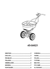 Agri-Fab - Model 130 lb - 45-0462 - Push Spreader Manual