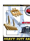 Heavy Duty Rakes- Brochure