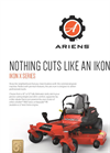Ariens ICON - Model X - Zero Turn Mowers- Brochure