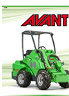 AVANT - 500 series - Versatile and Powerful Loader Brochure