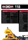 Ride-On Trencher 118 Series Specifications- Brochure
