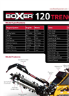 BOXER - Model 120 - Dedicated Trencher - Brochure