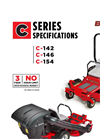 BigDog - C Series - High blade-tip Speed Mower Specifications