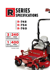 BigDog Mowers - R Series - High Blade-Tip Speed Mower Specifications