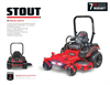 BigDog - Model Stout - Mower Datasheet