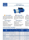 NIZA - Horizontal Close Coupled Centrifugal Electro Pumps - Brochure