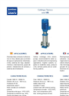 Model VS - Vertical Multicellular Centrifugal Electro-Pumps Brochure