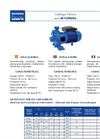 Model HM100 - Horizontal Close Coupled Centrifugal Electro Pumps Brochure