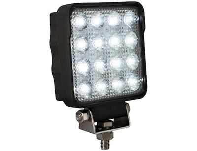 Buyers Products - Model 4.5 Inch - Square LED Clear Flood Light