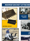 Mini Skid Loader Bucket Attachment Brochure