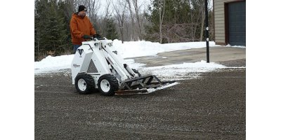 Mini Skid Loader Carry-All Leveler Attachment