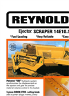 Model 14E10.5 - Construction Scrapers Brochure
