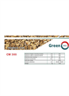 GreenEcoTherm - CM 300 - Drum Wood Chipper - Technical Data