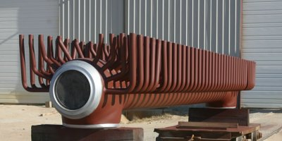 Utility Boiler Headers