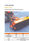 Model YB244 - 4` Walk Behind Broom Brochure