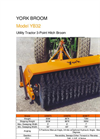 Model YB32 - Mechanically Driven 3 Point Hitch Mounted Broom Brochure