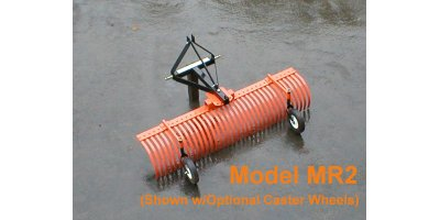 Model MR24 - 4` Landscape Rake