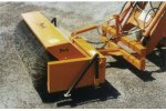 Model FLB32 - Hydraulically Driven Front Loader Mounted Broom