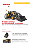 Yanmar - Model SA324 - Open Platform Tractor with Rops Brochure
