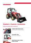 Yanmar - Model YT235 - Open Platform Tractor with Rops Brochure