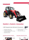 Yanmar - Model YT347 - Open Platform Tractor with Rops Brochure