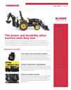 Yanmar - Model Ex3200 - Open Platform Tractor with Rops Brochure