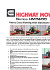 Model HM7400 - Highway Mower- Brochure