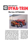 DYNA TRIM - Model DT5420 - Hydraulic Driven Mid Mounted Low Profile Mower Brochure