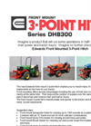 Model DH8300 - Front Mount 3-Point Hitch Brochure