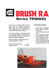 Model TPB500 - Brush Rake Brochure