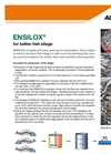 Ensilox - Fish Protein Concentrate (FPC) for Better Fish Silage - Brochure