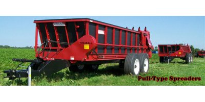 Pull-Type Tractor Manure Spreaders