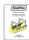Model GB - Backhoe Grapples- Manual