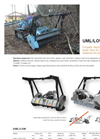 Model UML/LOW - Forestry Mulchers Brochure