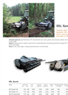 Model SSL SPEED - Forestry Tiller Brochure