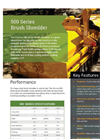 Model 500 Series - Brush Flail Shredder Brochure