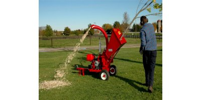 Model 4013 - Self-Propelled Wood Chippers