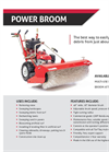 Power Broom Multi-Use or Attachment - Brochure