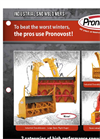 PGV Series - Industrial Snowblower  Brochure