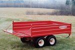 Model P-503 - Off-Road Dump Trailer