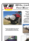 Front Frame Mount Tank on Case IH Magnum Tractor Brochure