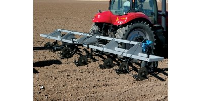 Wylie - Coulter Fertilizer Applicator Places Fertilizer with Knives or Injection