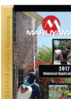 Chemical Application and Spray Equipment - Brochure