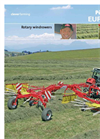 EUROTOP Single-rotor Windrowers- Brochure