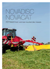 NOVACAT - Front-Type Disc Mowers Brochure