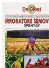 Model 1500, 2000 & 2500 - Self Propelled Sprayer  - Brochure
